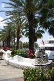 Tropical Promenade stock photography