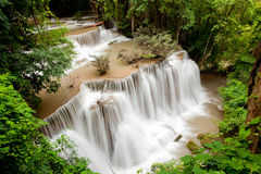 Tropical Rain forest waterfall Royalty Free Stock Photo