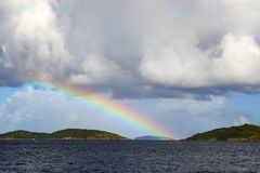 Tropical Rainbow Stock Photography