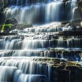 Tropical rainforest landscape with Pongour waterfall. Da Lat, Vietnam Stock Image