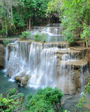 Tropical rainforest waterfall, Thailand Stock Photo