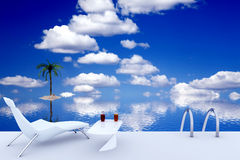 Tropical relax Stock Images