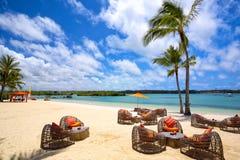 Tropical relaxe Fotografia de Stock Royalty Free