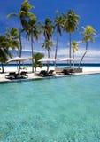 Tropical resort royalty free stock photo
