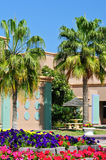 Tropical Resort. On the Arabian Gulf in Saudi Arabia Royalty Free Stock Photo