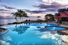Free Tropical Resort. Royalty Free Stock Photo - 17801345