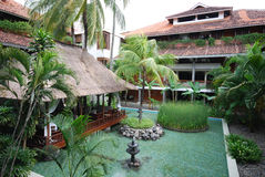 Tropical resort(Bali) Stock Photography
