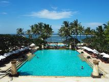 Tropical Resort on Bali Island stock images