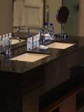 Tropical Resort Bathroom Royalty Free Stock Photo