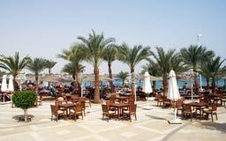 Tropical resort beach Stock Images