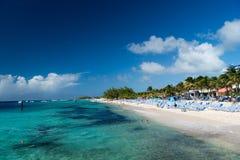 Tropical resort beach Stock Image