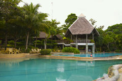 Tropical Resort in Bohol, Philippines Royalty Free Stock Images