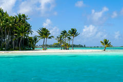 Tropical resort bora bora Royalty Free Stock Image