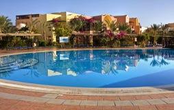 Tropical resort. Royalty Free Stock Photo
