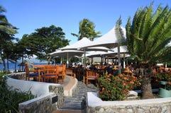 Tropical resort in Fiji Royalty Free Stock Photos