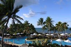 Tropical resort in Fiji Stock Photography