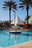 Tropical Resort Fountain Royalty Free Stock Photo