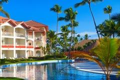 Tropical resort. Stock Photos