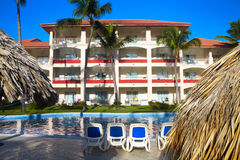 Tropical resort. Royalty Free Stock Photography