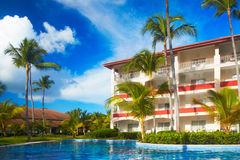 Tropical resort. Stock Image