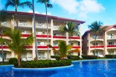 Tropical resort. Royalty Free Stock Photos