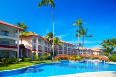 Tropical resort. Stock Images