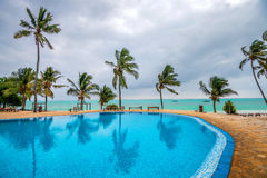 Tropical resort hotel Royalty Free Stock Photography