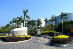 Tropical Resort Hotel. China's largest and most famous hotel Stock Photography