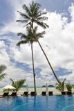 Tropical resort hotel Stock Photography