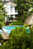 Tropical Resort Hotel Royalty Free Stock Images