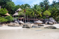 Tropical resort. On Ko Tao, Thailand Royalty Free Stock Images
