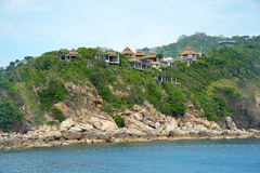 Tropical resort at Ko Tao, Thailand Royalty Free Stock Images
