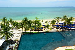 Tropical resort. Krabi. Thailand Royalty Free Stock Photography