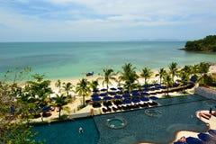 Tropical resort. Krabi. Thailand Stock Images