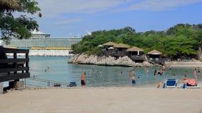 Tropical resort stock footage