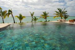 Tropical resort. Mauritius Royalty Free Stock Images