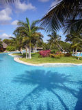 Tropical resort in Mexico Stock Photography