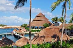 Tropical resort Stock Photo