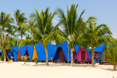 Tropical resort Stock Photography