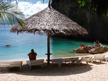 Tropical resort paradise Stock Photography