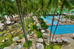 Tropical resort. Phuket. Thailand Royalty Free Stock Image