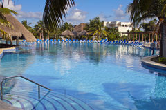 Tropical Resort Pool Royalty Free Stock Images