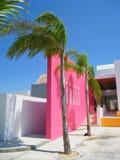 Tropical Resort Spa Ingang stock fotografie