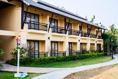 Tropical resort thailand. Travel thai resort Don-Houy-Loud, Samutsongkram, Thailand Royalty Free Stock Photography