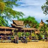 Tropical Resort. Traditional tropical resort in Koh Lanta, Thailand Royalty Free Stock Photography