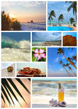 Tropical resort vacation Royalty Free Stock Images