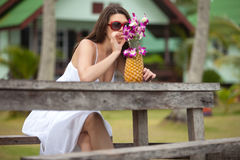 Tropical resort Royalty Free Stock Photography