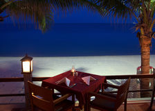 Tropical restaurant Stock Images