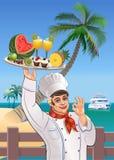 Tropical restaurant Stock Photo