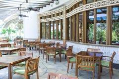 Tropical Restaurant royalty free stock photos